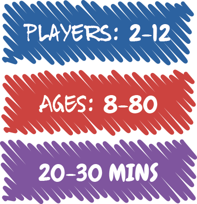 2-12 players | Ages 8-80 | 20-30 mins